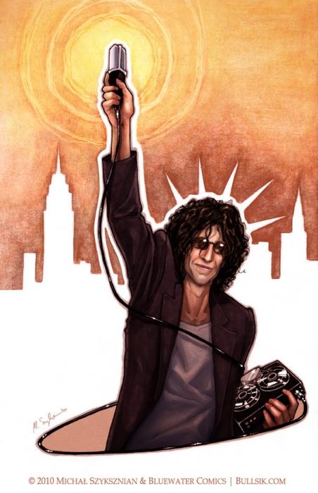 Howard Stern by Bullsik